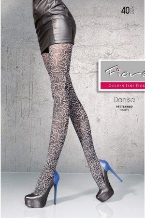 Danissa FiORE patterned tights plum