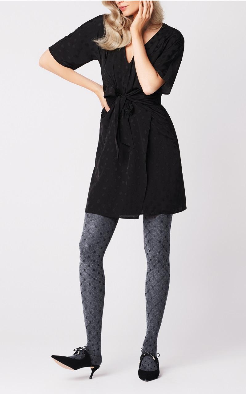 Matilda FiORE melange opaque tights