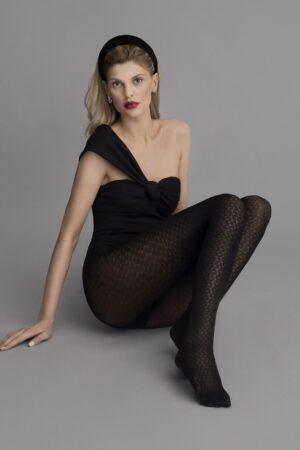 Fiore Manhattan Pattern Fashion Tights