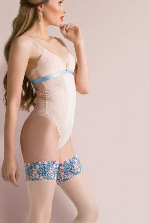 Gabriella Florence Colorful Floral Band Hold Ups