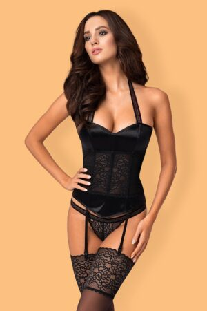 Ailay Corset and thong Obsessive lingerie