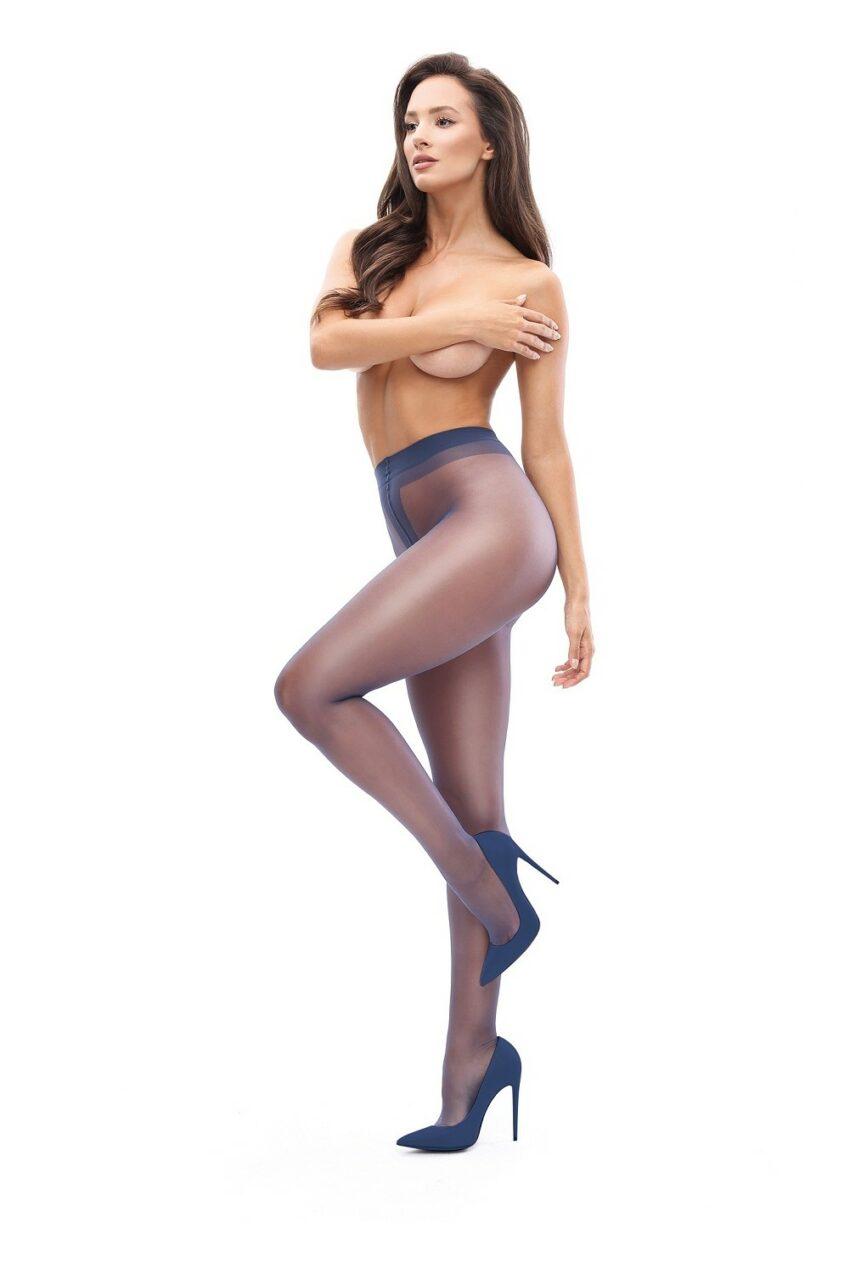Misso P101 Dark Blue Pantyhose