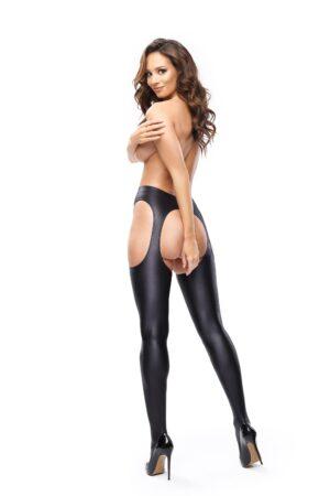 Misso SP800 Suspender Tights Black
