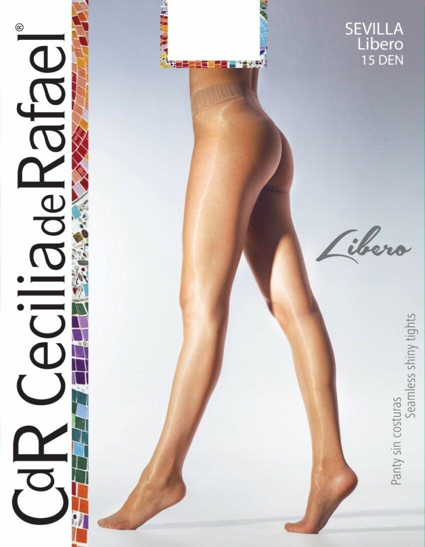 Cecilia De Rafael Sevilla Libero 2823 Seamless Pantyhose Cover