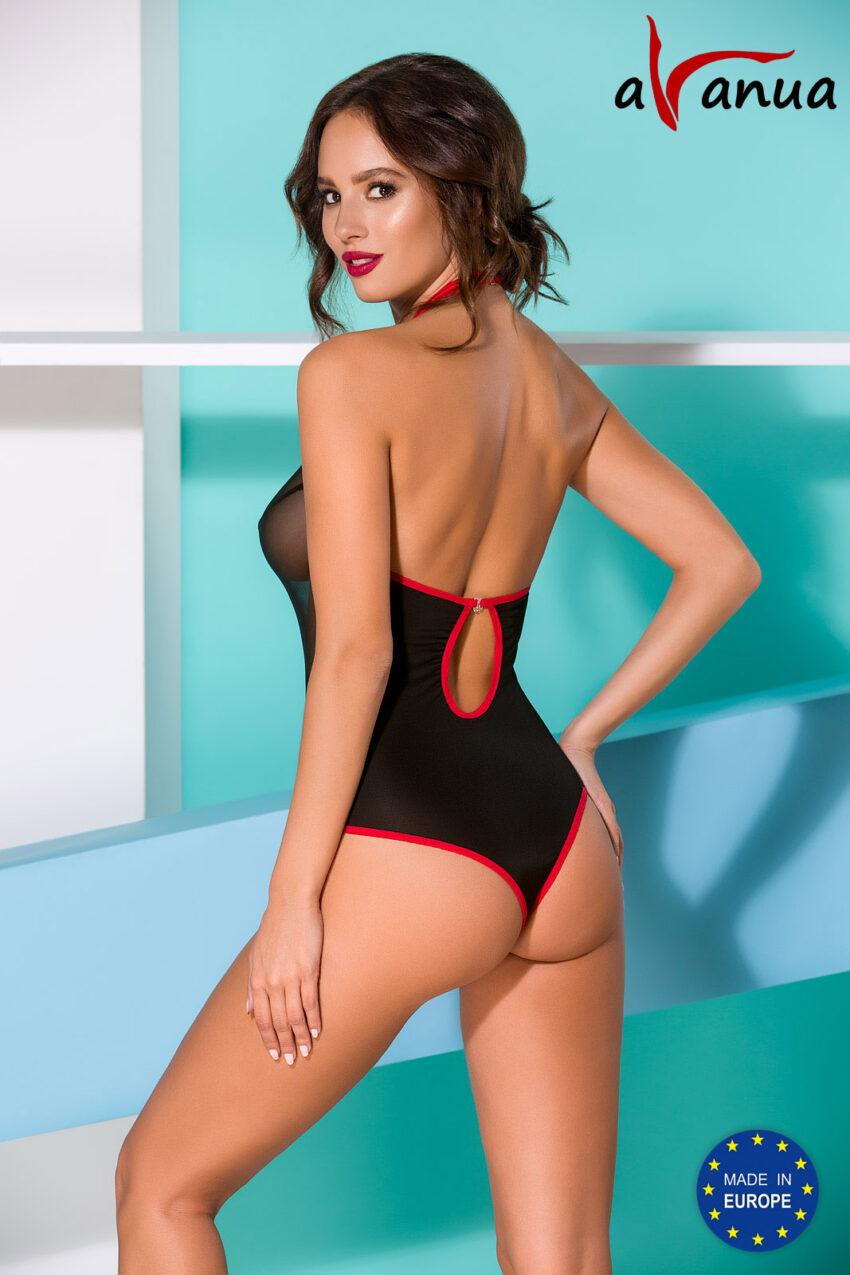 Lingerie Avanua Cyra Body Black Back