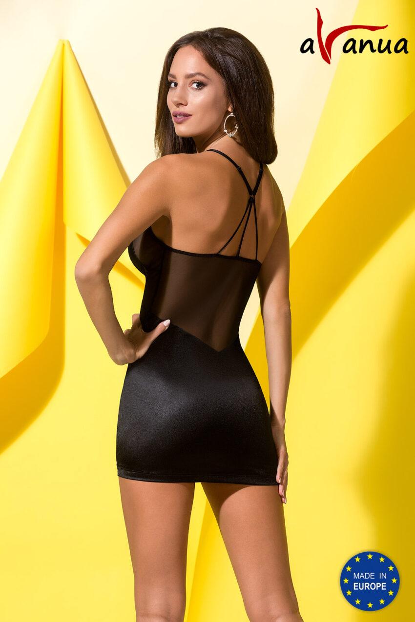 Lingerie Avanua Quella Chemise Black Back