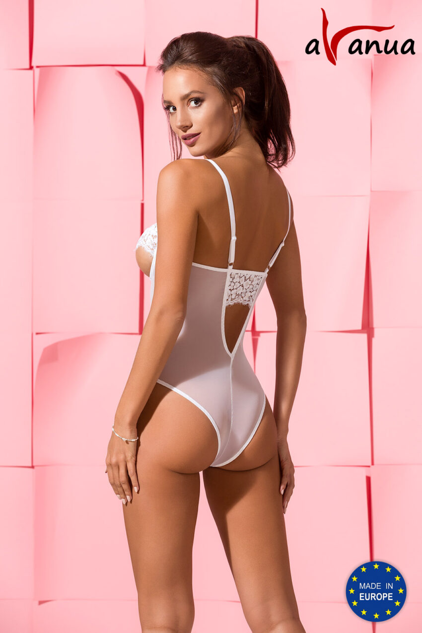 Lingerie Avanua Silentia Body White Back