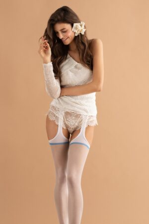 Fiore Dolce Amore Suspender Tights