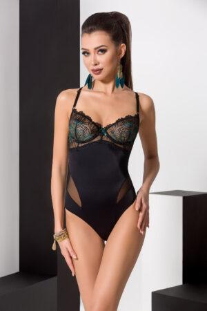 Lingerie Passion Floris Body Black