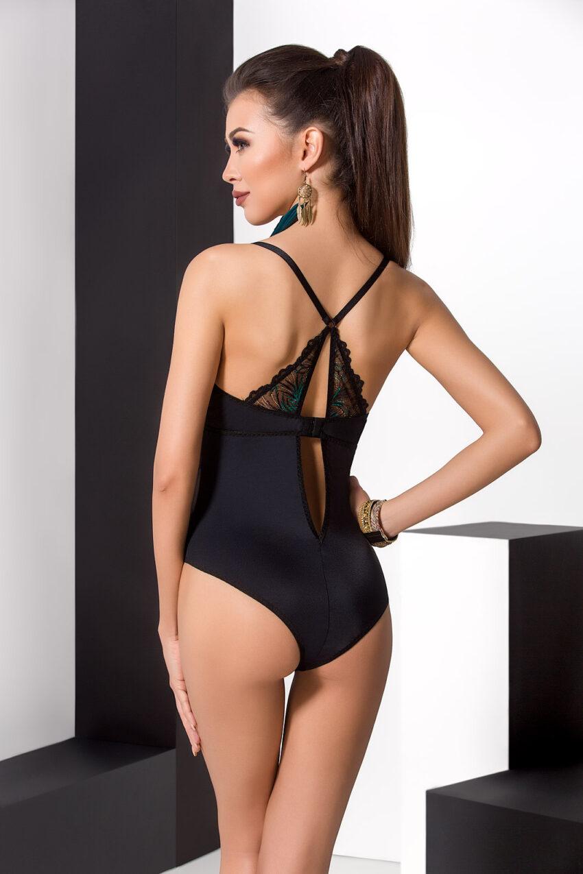 Lingerie Passion Floris Body Black Back