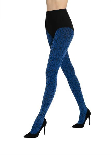 Sassi blue Gatta opaque tights